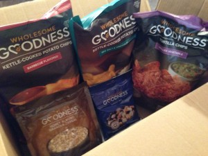 Wholesome Goodness Product Review + WIAW