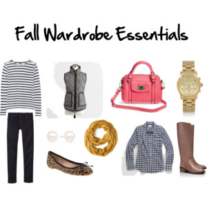 Thursday Things – Fall Wardrobe Essentials