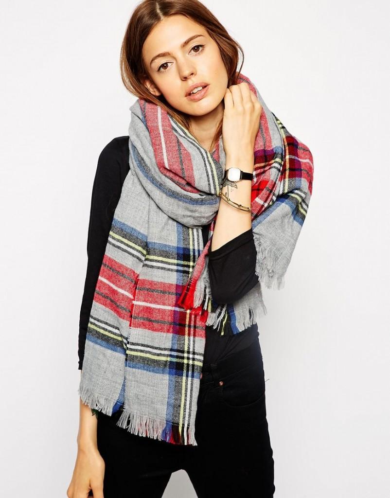 asos scarf