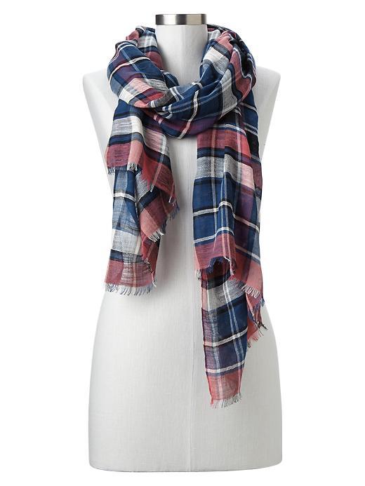gap pink scarf