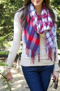 Thursday Things – Oversized Plaid Scarves