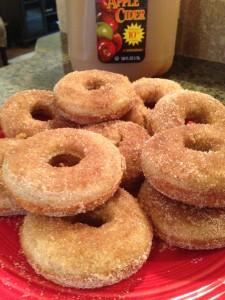 Apple Cider Donuts (Gluten Free)