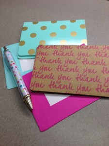 The Importance of Handwritten Thank You Notes