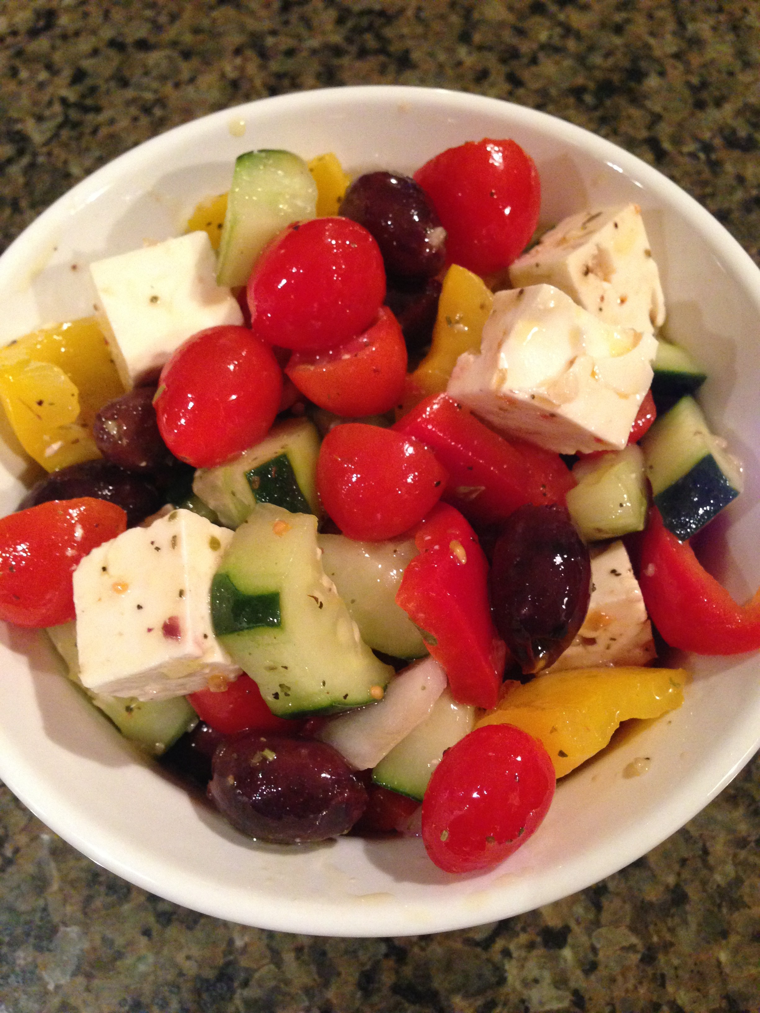Ina Garten 39 S Greek Salad Tomatoes For Cucumbers