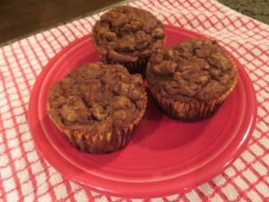 Applesauce Muffins (Gluten Free)