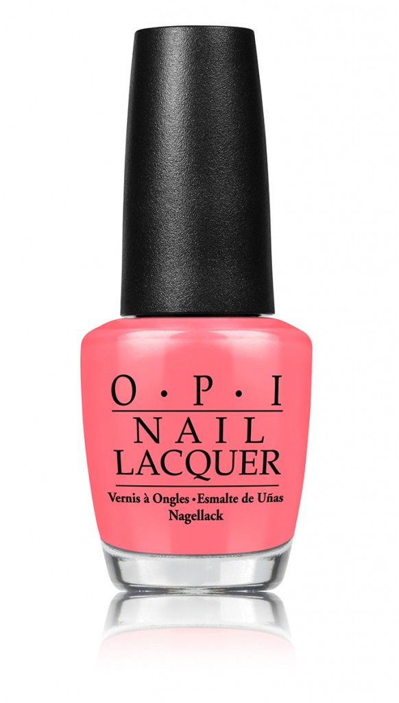 Five Nail Colors for Spring - Tomatoes for Cucumbers