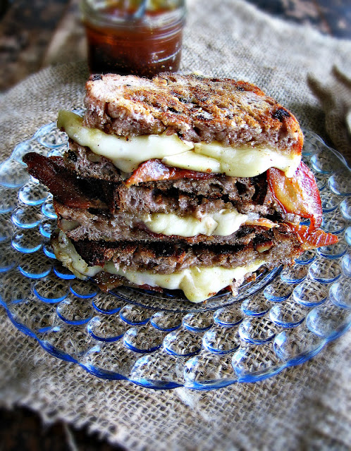 bacon brie fig